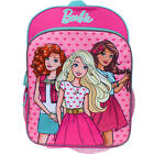"BARBIE FRIENDS MATTEL Full-Size 16"" Backpack w/ Optional Insulated Lunch Box NWT"