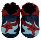 Freeshipping Newborn Prewalker Soft Sole Leather Baby Shoes Guitar Navy 0-5years