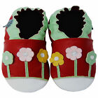 Free shipping Baby Boy Shoes Up To 8years Soft Sole Leather Kids Shoes Daisy Red