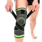 knee brace for running - 3D Weaving Knee Brace Breathable Support for Running Jogging Sports Joint Pa D P