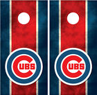 Chicago Cubs Cornhole Board Wraps Decals Graphics on Ebay