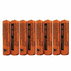 2-8 Pcs 700mAh Panasonic NiMH AAA Rechargeable Battery For Cordless Phones New