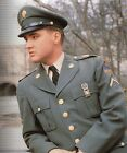 ELVIS PRESLEY Army Uniform Color Photo Reproduction
