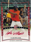 2014 Leaf Perfect Game Showcase Autographs Red #ATW3 Tyler Williams #5/5*J*