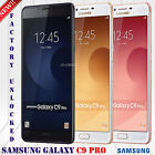 "Samsung Galaxy C9 PRO Duos SM-C9000 (64GB) Factory Unlocked Phone 16MP 6.0"" HD"