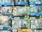 STAR WARS MIXED BATTLE PACKS / FIGURE PACKS / VEHICLES - MIB - SEE PHOTOS!