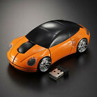 2.4GHz Wireless 1600DPI 3D Cool Car Shape Optical Usb Gaming Mouse for PC Laptop