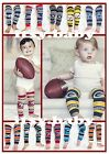 NFL Baby Leggings 12 teams--you choose! 1 pair of Officially Licensed Legwarmers