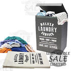 FABRIC DELUXE LAUNDRY HAMPER BASKET BIN POP UP WASHING BAG FOLDABLE CREAM GREY