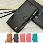 For Apple iPhone 7 / 8 Plus Leather Flip Wrist Strap Wallet Stand Case Cover