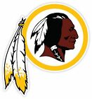 WASHINGTON REDSKINS Vinyl Sticker Decal *SIZES* Cornhole Truck Car Bumper Wall on eBay