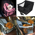 Portable Pet Car Seat Belt Booster Travel Carrier Folding Bag for Dog Cat Puppy