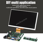 "7"" Inch Screen LCD Display 50Pin 1024X600 HDMI/VGA/2AV For Raspberry Pi Black EB"