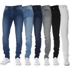 New Mens KRUZE Stretch Super Skinny Casual Denim Basic Jeans All Waist Sizes