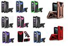 For ZTE Majesty Pro Z799VL / Z798BL Hybrid Phone Cover Case with Stand