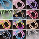 (94Colors) Wholesale 16X8mm DIY Findings Faceted Loose Glass Beads Pendants