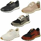 Clarks Ladies Lace Up Trainer Style Shoes Floura Mix