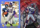 Cris Carter - 1997 Totally Certified (872/4999), 2000 Topps Chrome (REFRACTOR)