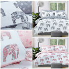 Elephant / Paisley Luxurious Duvet Cover Sets Reversible Bedding Sets Pieridae
