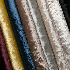 Crushed Velvet Upholstery Sofa Curtain Fabric Material Fire Retardant FR Craft