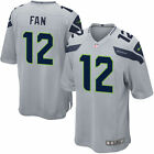 Authentic Nike NFL 2017 Game Edition Seattle Seahawks 12th Man Fan #12 Jersey