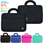"Slim 15"" Inch Sleeve Carrying Case Cover Bag Handle for 15"" - 15.6"" Inch Laptop"