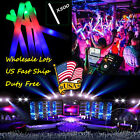 "500PCS 19"" DJ Flashing Light-up Foam Sticks LED Colorful Rave Rally Batons Party"
