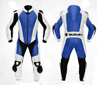 Suzuki Motorcycle Cruiser Leather Suit MotoGp Sports Motorbike Leather Suit