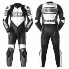 Mens Motorbike Leather Suit Sport Motorcycle Racing Leather Armors Custom Size