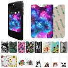 Wallet Credit Card Pocket Money Adhesive Holder Pouch for Universal Cell Phones