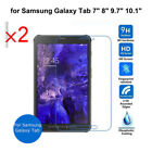 2Pcs Table Tempered Glass Screen Protector for Samsung Table Tab 7/8/9.7/10.1""