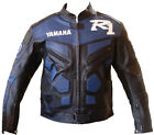 R1 Riding Motorcycle Leather Jacket Sports Motorbike Racing Leather Jacket