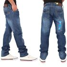 Peviani Mens Boys True Boston Star Denim Fit Jeans Hip Hop Club G Religion SWB