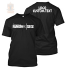 New RAINBOW SIX SIEGE 2017 Custom with Text Perzonalized Tee/TShirt/Shirt/Player