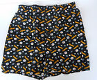 Pittsburgh Steelers Allover Name Logo Black Boxer Shorts Briefs Underwear NFL