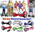 "6.5"" 2 WHEELS SELF BALANCING SCOOTER BALANCE BOARD Bluetooth + LED + Remote UK #"