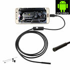 Waterproof Endoscope Borescope Inspection Camera Tool Kit for Android Phone Car