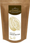 Sevenhills Wholefoods Organic Cacao Butter | Chocolate Detox, Baking
