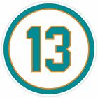 Miami Dolphins Vinyl Sticker Decal *SIZES* Cornhole Car Truck Wall 13 Dan Marino on eBay