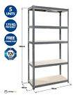 Garage Shelving Unit 5 Tier 180x90x40cm Racking Shelf Storage  <br/> FREE BAY CONNECTORS / 175kg UDL Per Shelf / Low Price