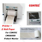New Thermal Printer+Recorder Paper For CONTEC CMS8000 Vital Signs Patient Montor