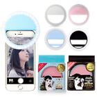 Selfie Portable LED Ring Fill Light Camera Photography IPhone Android Phone J15