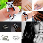 Retro Dragon Claw Open Finger Ring Dog Cat Pet Paw Cool Unisex Men Women Gift