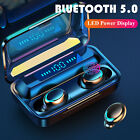 Bluetooth 5.0 Earbuds TWS Wireless Headphones Earphones HD Stereo Touch Headsets