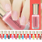 Charming Translucent Jelly Nail Polish Women Beauty Candy Nude Color Gel Polish