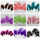 "MARABOU PLUMAGE 2-5"" Feathers 15 Colors to Choose From! Halloween/Craft/Bridal"