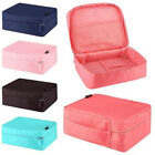 7 Colors Portable Travel Makeup Toiletry Case Pouch Cosmetic Cube Storage Bag