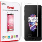 Dooqi OnePlus 5 Full Cover 3D Curved Tempered Glass Screen Protector Saver