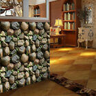 2pcs Simplicity 3D Brick Stone Wallpaper Roll Textured Art Wall Paper Decor