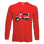 MOD SCOOTER LONG SLEEVE T-SHIRT - Union Jack Scooters Target Scooters Mods